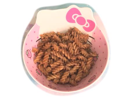 螺旋義大利麵變身「偽可樂果」